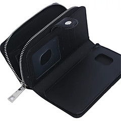 Για Samsung Galaxy Θήκη Πορτοφόλι / Θήκη καρτών / Μαγνητική tok Πλήρης κάλυψη tok Μονόχρωμη Γνήσιο δέρμα SamsungS7 edge / S7 / S6 edge