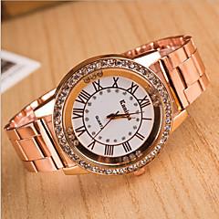 voordelige Nieuwe collectie-Dames Modieus horloge Kwarts Hot Sale Legering Band Amulet Meerkleurig