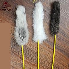 Zabawka dla kota Zabawki dla zwierząt Wędki dla Kota Zabawka z piórkami Sztyft