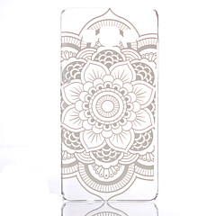 For Samsung Galaxy etui Transparent Mønster Etui Bagcover Etui Mandala-mønster PC for Samsung A5 A3