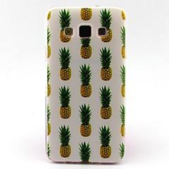 billige Galaxy A3 Etuier-For Samsung Galaxy etui Mønster Etui Bagcover Etui Frugt TPU for Samsung A5 A3