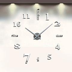 preiswerte Uhren-Modern / Zeitgenössisch Edelstahl Kreisförmig Drinnen,AA / Quarzwerk