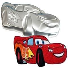 voordelige Bakgerei & Gadgets-vier-c sportwagen vorm aluminium taart bakpan schimmel, bakken benodigdheden voor cakes, bakvorm bakvormen metal
