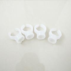 タトゥー眉アイライナーリップ化粧品キットを供給するための100個 / ロットのアートメイクプラスチックインクカップリングインクホルダー