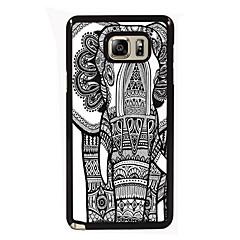 For Samsung Galaxy Note Etuier Mønster Bagcover Etui Elefant PC for Samsung Note 5 Edge Note 5 Note 4 Note 3