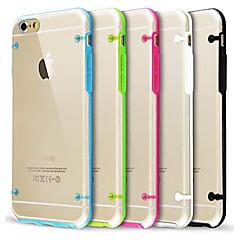 dla iphone 7 ultra przejrzysty blask w ciemnym etui do iPhone 6s 6 plus