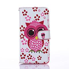 Для Samsung Galaxy Note Чехлы панели Бумажник для карт Кошелек со стендом Флип Чехол Кейс для Сова Искусственная кожа для SamsungNote 5