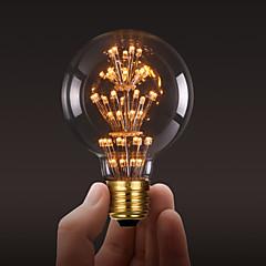 ecolight®e27 3w led電球3700k暖かい白ロフトレトロな産業スタイル電球エジソン電球ac220〜240v