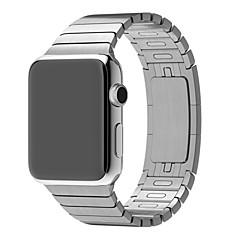 Zegarek na zegarek jabłkowy 38mm 42mm stal nierdzewna link metal pasek na rękę zegarek