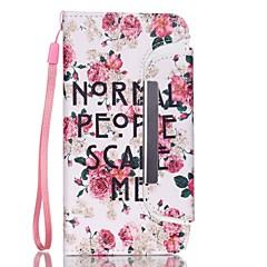 Для Кейс для iPhone 6 Кейс для iPhone 6 Plus Чехлы панели Кошелек Бумажник для карт Other Чехол Кейс для Слова / выражения Твердый