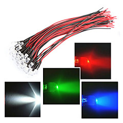 お買い得  LED ストリングライト-RGBストリップライト 1 LED Dip LED RGB / ホワイト / レッド 防水 12 V / # / IP44