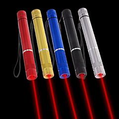 お買い得  レーザーポインター-懐中電灯型 レーザーポインター 650nm Aluminum Alloy