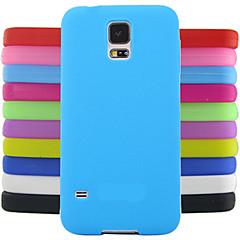 Χαμηλού Κόστους Galaxy S4 Mini Θήκες / Καλύμματα-στερεά πρότυπο σχεδιασμού θήκη σιλικόνης ζελέ χρώμα για mini i9190 Samsung Galaxy S4