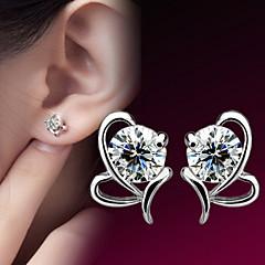 preiswerte Ohrringe-Damen Ohr-Stulpen - Sterling Silber, Edelstahl Silber Für Alltag / Normal / Sport