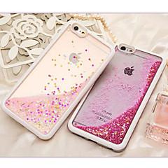 Для Кейс для iPhone 6 / Кейс для iPhone 6 Plus Движущаяся жидкость Кейс для Задняя крышка Кейс для Сияние и блеск Мягкий TPUiPhone 6s