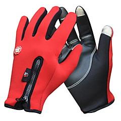 Γάντια Γάντια για Δραστηριότητες/ Αθλήματα Γυναικεία / Ανδρικά Γάντια ποδηλασίας Φθινόπωρο / Χειμώνας Γάντια ποδηλασίαςΔιατηρείτε Ζεστό /