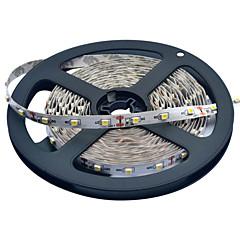 JIAWEN® 5 M 300 3528 SMD Blanc chaud / Blanc Découpable / Connectible 25 W Bandes Lumineuses LED Flexibles DC12 V