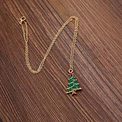 preiswerte Halsketten-Damen Anhängerketten  -  Weihnachten Modische Halsketten Für Hochzeit, Party, Alltag