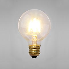 dekorative glødelamper, e14 / e26 / e27 2 w 2 cob lm gul ac 220-240 v
