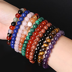 cheap Bracelets-Women's Strand Bracelet Gem Jewelry Wedding Party Daily Casual Sports Costume Jewelry 12 14 15 16 18