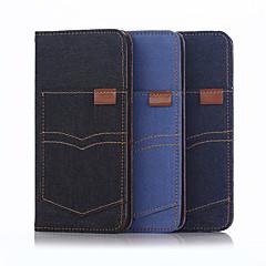 Voor iPhone 8 iPhone 8 Plus iPhone 6 iPhone 6 Plus Hoesje cover Portemonnee met standaard Flip Volledige behuizing hoesje Effen Kleur