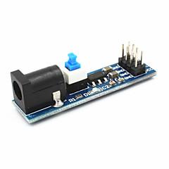 スイッチ/ W ams1117 5V電源モジュール - 黒+青(6.5〜12V)