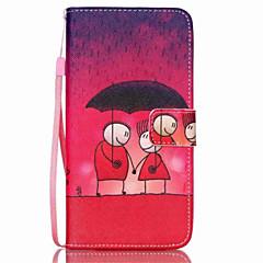 Для Samsung Galaxy Note Кошелек / Бумажник для карт / со стендом / Флип Кейс для Чехол Кейс для Мультяшная тематика Искусственная кожа