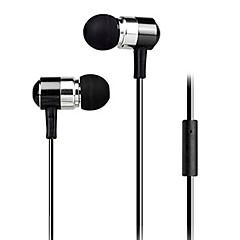 billige Hodetelefoner-I øret Med ledning Hodetelefoner Plast Mobiltelefon øretelefon Med mikrofon Støyisolerende Headset