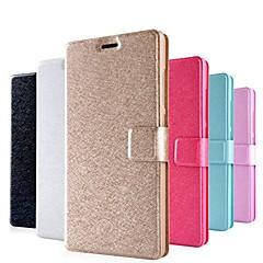 Недорогие Чехлы и кейсы для Xiaomi-Кейс для Назначение Xiaomi Кейс для Mi Полноразмерные чехлы Бумажник для карт со стендом Флип Чехол Сияние и блеск Твердый Кожа PU PU для