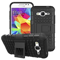 hybridi seisontatuki näytön kansi combo kova PC + TPU-kotelo Samsung Galaxy grand prime / ydin prime / nuori 2 / ässä 4