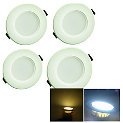cheap Indoor Lights-YouOKLight 4pcs 200 lm 8 LED Beads SMD 5730 Decorative Warm White / Cold White 220-240 V / 4 pcs / 65 / RoHS
