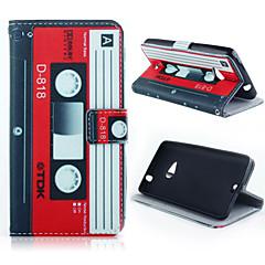 Kompatibilitás Nokia tok tokok Pénztárca Kártyatartó Állvánnyal Teljes védelem Case Más Kemény Műbőr Bőr mert NokiaNokia Lumia 640 Nokia