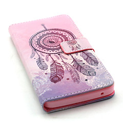For Wiko Case Wallet / Card Holder / with Stand / Flip / Pattern Case Full Body Case Dream Catcher Hard PU Leather Wiko