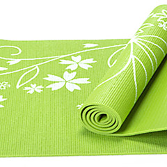 PVC Yoga Mats Kleverig Non Toxic 8.0 mm Rood Blauw Groen Paars