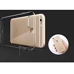billige Etuier til iPhone 7 Plus-Etui Til Apple iPhone 8 / iPhone 8 Plus / iPhone XS Transparent Bagcover Ensfarvet Blødt TPU for iPhone XS / iPhone XR / iPhone XS Max