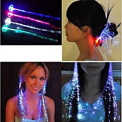 cheap Luminous Jewelry-Men's / Women's / Couple's Illuminated / Luminous Acrylic Hair Clip Flower / Headbands / Tiaras / Headbands / Tiaras