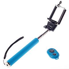 Недорогие Монопод для селфи-Беспроводная Bluetooth автопортрет монопод регулируемый палочка полюс для iphone Andriod mobie телефонов с пультом дистанционного