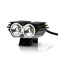 hesapli -Bisiklet Işıkları emniyet ışıkları LED Cree XM-L U2 Bisiklet Darbeye Dayanıklı Şarj Edilebilir Su Geçirmez Kolay Taşınır LED Işık 18650