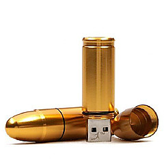 groothandel bullet model usb 2.0 flash memory stick drive 16gb