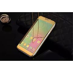 abordables Galaxy A5 Carcasas / Fundas-Funda Para Samsung Galaxy Funda Samsung Galaxy Espejo Flip Transparente Funda de Cuerpo Entero Color sólido ordenador personal para