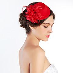 저렴한 -여성 패브릭 투구-웨딩 특별한날 야외 모자