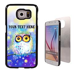 olcso Galaxy A7 tokok-Mert Samsung Galaxy tok Minta Case Hátlap Case Bagoly PC SamsungS6 edge plus / S6 edge / S6 / S5 Mini / S5 / S4 / A8 / A7 / Note 5 / Note