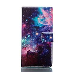 Для Кейс для Sony / Xperia Z3 Кошелек / Бумажник для карт / со стендом / Флип Кейс для Чехол Кейс для Пейзаж Твердый Искусственная кожа
