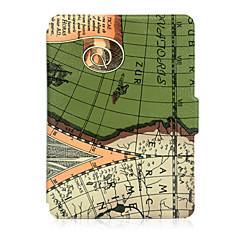 お買い得  タブレット用ケース-ケース 用途 Amazon フルボディーケース / タブレットケース プリント ハード PUレザー のために