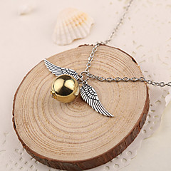 Wing Wrecking Ball Silver Zinc Shining Harry Pendant Only (1 Piece)