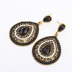 voordelige Damessieraden-Dames Druppel oorbellen Modieus Europees Kostuum juwelen Hars Legering Drop Sieraden Voor
