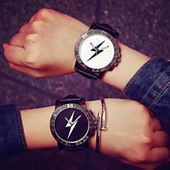 お買い得  レディース腕時計-男性用 ファッションウォッチ タッチスクリーン / LED シリコーン バンド / ステンレス