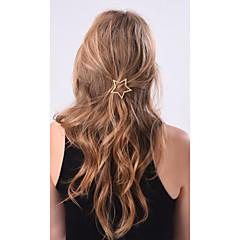 Alloy Hair Clip Golden