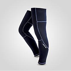 Calentadores de la pierna/Polainas BicicletaMantiene abrigado Resistente al Viento Diseño Anatómico Forro Polar Listo para vestir Bandas