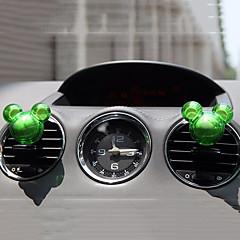 abordables Ambientadores-2pcs forma aleatoria coche fragancia de ventilación de aire ambientador de perfume del enchufe